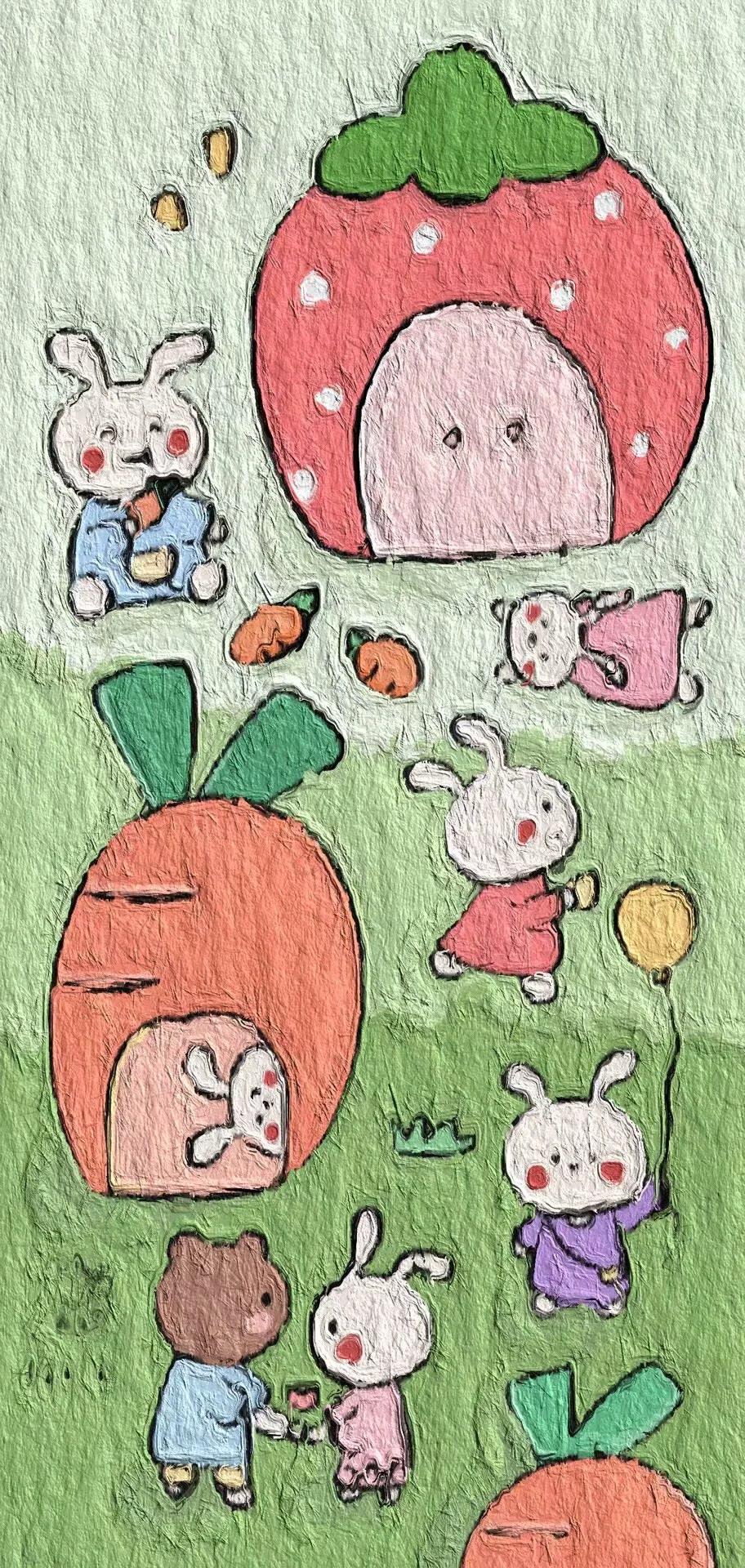 卡通动漫美图适合做微信QQ背景图 第7张图片