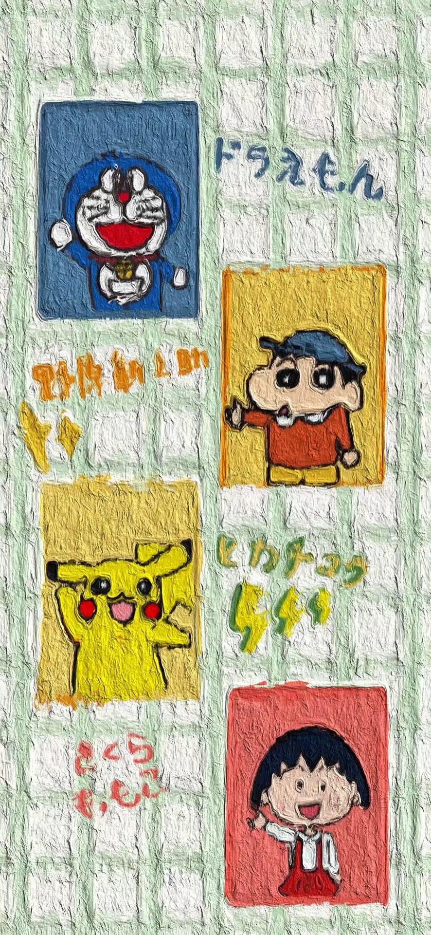卡通动漫美图适合做微信QQ背景图 第5张图片