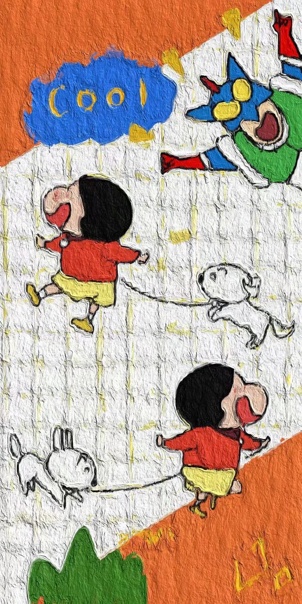 卡通动漫美图适合做微信QQ背景图 第16张图片